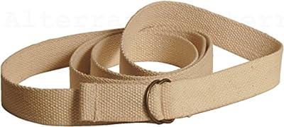 Yoga Nova - 100% Baumwolle-Yoga-Gurt: Band (LxB: 195cmx32mm)