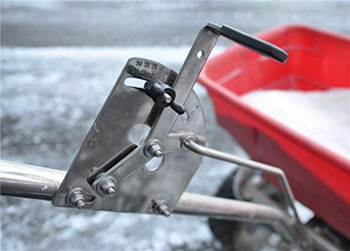 Industrie Salzstreuer – Profigerät mit Regenabdeckung   Salzstreuwagen Streuwagen Salz streuen;;;;; - 4