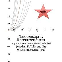 Trigonometry Reference Sheet (English Edition)