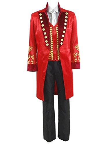 Zhangjianwangluokeji Ringmaster Kostüm Circus Showman Cosplay Performance Uniform Party Suit (Small, Farbe ()