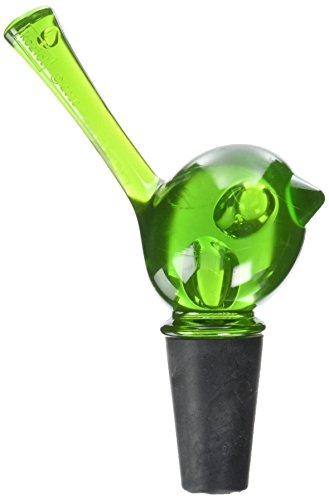 koziol-pip-bottle-stopper-green