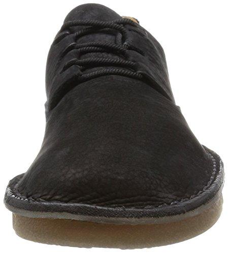 Clarks Originals Trigenic Veldt Hommes Casual Shoes Black