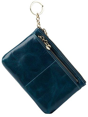 yaluxe-donna-luxus-cera-pelle-karten-halter-cerniera-moneta-borsa-con-anello-portachiavi-blu