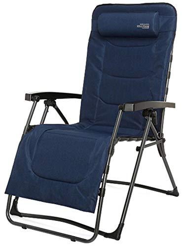 Westfield XXL Luxus Camping Relaxsessel 507390BE, bis 140 kg belastbar, mit Kopfpolster und...