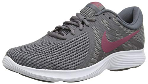 Nike Nike Revolution 4 Eu Zapatillas de Running Hombre, Multicolor (Gunsmoke/Vintage Wine/Dark Grey/White 008), 42.5 EU