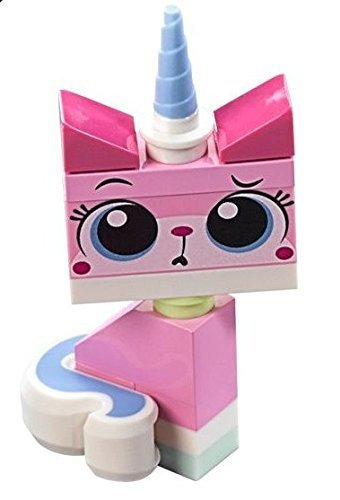 The LEGO Movie - Sitting Unikitty Minifigure with 2 Facial...