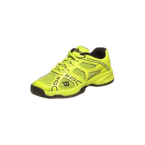 Wilson Wrs316920E010, Chaussures de sport mixte enfant Vert (Lime)