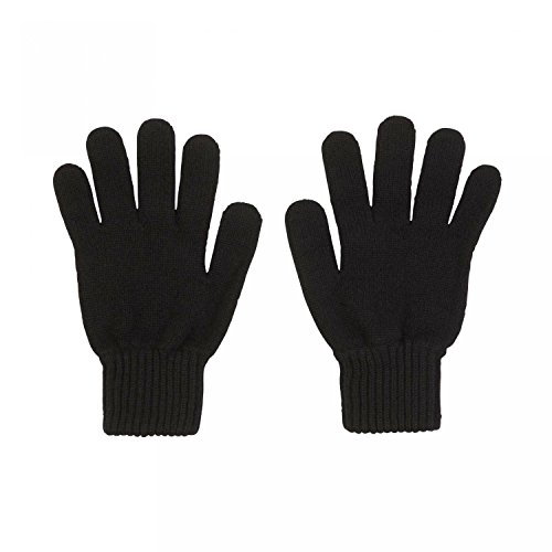 Johnstons of Elgin Damen Handschuhe Gr. Einheitsgröße, schwarz - Schwarz Pure Cashmere Damen-handschuhe