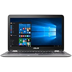 Asus VivoBook Flip Convertible 15.6†Touchscreen Laptop, Intel Core i3-6100U 2.3GHz, 4GB DDR4, 128GB SSD, Bluetooth, Windows 10 Home