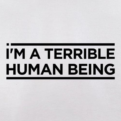 I'm A Terrible Human - Herren T-Shirt - 13 Farben Weiß