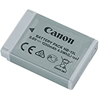 Canon 9839B001[AA] NB 13L Rechargeable Battery for PowerShot G7X - Grey