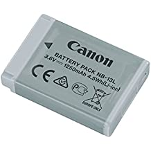 Canon 9839B001[AA] NB 13L RechargeableBattery for PowerShot G7X - Grey