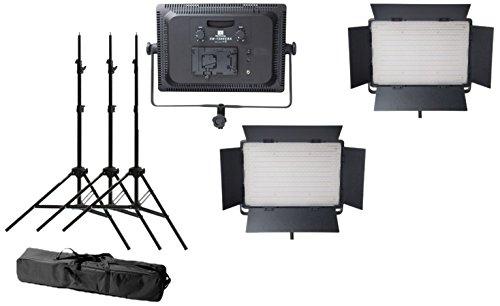 Nanguang CN1200CHS3 Pechfackel 3er Set LED, schwarz