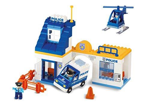 Unicoplus 8544–0002–Estación Policía, Blanco/Amarillo/Azul