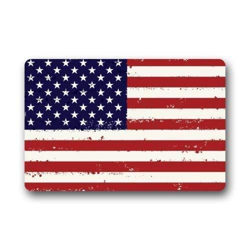 Bgejkos Cool Flag of American Stars and Stripes Flag Fußabtreters Floor Mat Door Mat Rug Indoor/Outdoor Mats Welcome Fußabtreter h\w: 15.7inch23.6inch -
