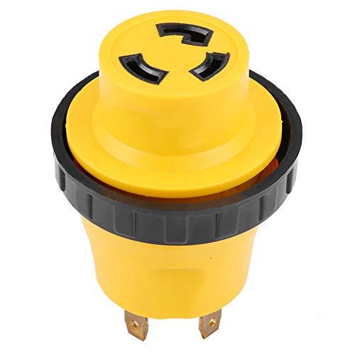 30a-stecker (RV Adapterstecker, RV Adapterstecker 125V RV-Netzkabeladapter 30A-Stecker auf 30A-Buchsenstecker)