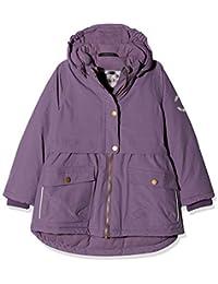 mikk-line Mädchen Jacke Nylon Winterjacke (Wassersäule 8000), Violett (734 Light Grape), 140