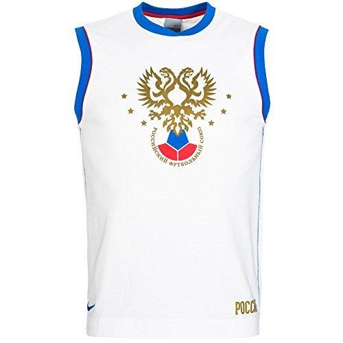Russland Nike Calcio Canotta 119635-100 - 119635-100, XXL