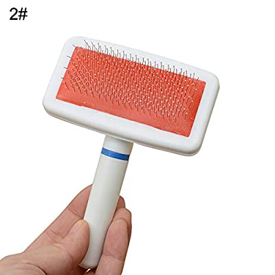WFZ17 Pet Accessories Dog Hair Comb Cat Cleaning Shedding Grooming Trimmer Fur Brush Massage by WFZ17