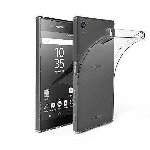 EasyAcc Sony Xperia Z5 Hülle Case Transparent Handyhülle Schutzhülle TPU Crystal Clear Case Backcover Bumper Slimcase