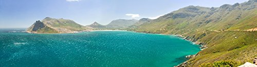 The Poster Corp Panoramic Images - Chapman_ s Peak Drive to Panoramic View of Atlantic Ocean and Hout Bay Southern Cape Peninsula Outside of Cape Town South Africa Photo Print (68,58 x 22,86 cm) -
