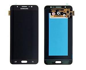 Original Samsung Galaxy J7 (2016) J710F J710 AMOLED LCD Display Touchscreen Digitizer Glas Service Ersatzteil Einheit Schwarz GH97-18855B