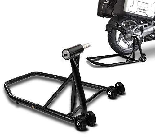 ConStands Single Béquille d'atelier pour BMW R NineT Pure 17-20 noir, Monobras adaptateur inclus