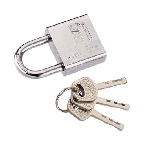 Candado de 3 llaves Uso duradero Candado de puerta de seguridad con ce