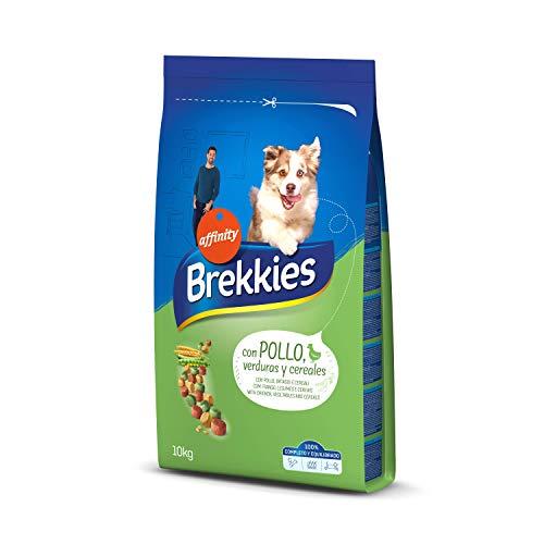 Brekkies Pienso para Perros con Pollo, Legumbres y Verduras - 10000 gr