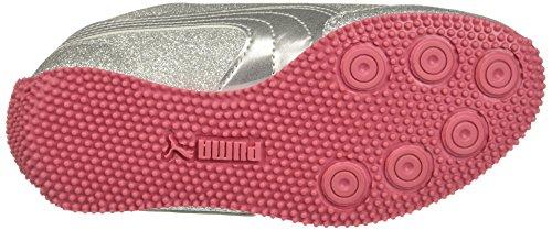 Puma Kids Whirlwind Glitz V Sneaker Puma Silver-puma Silver