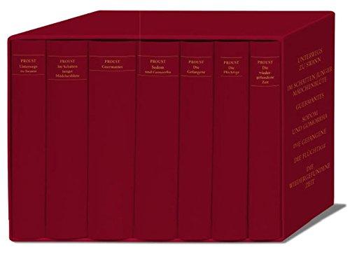 Auf der Suche nach der verlorenen Zeit. Werke. Frankfurter Ausgabe (7 Bände in Kassette)