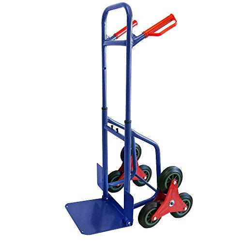 Grafner® Treppensteiger Sackkarre 200 kg ausziehbar klappbar Treppen Sackkarre