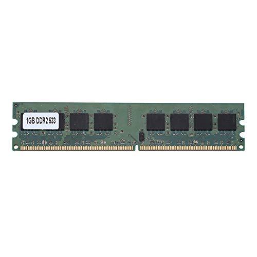 Tangxi DDR2-Speicher, DDR2-RAM, 1 GB Meomory 533MHz PC2-4200 240Pin, hochwertiger Desktop-Speicher für Intel/AMD-Motherboard, voll kompatibel für Desktop-Computer -