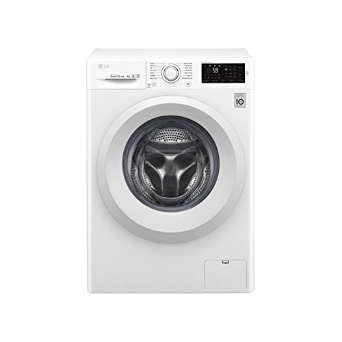 LG f2j5tn3�W Independent Front Loading 8�kg 1200rpm A + + + White���Washing Machine (Freestanding, Front Loading, White, Left, LED, stainless steel)