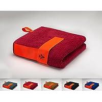 skilly Flex Band Sporthandtuch/Fitnesshandtuch   Perfekt für Das Fitnessstudio   Saugfähig und extra weich 