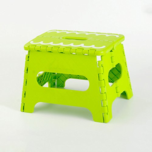 KKY-ENTER Tabouret pliant de mode épaissir en plastique portable pliable en plein air pied tabouret de pied Multi usage pliable facile de stockage mini petit banc