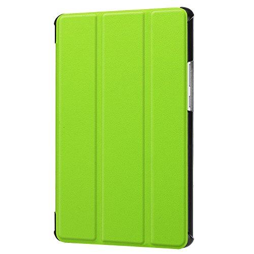 Lobwerk Cover für Huawei MediaPad M5 8.4 Zoll Schutzhülle Tablet Hülle Flip Case mit Auto Sleep/Wake, Standfunktion und Touch Pen Grün