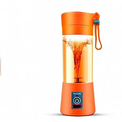 Juicer Electric Saft Cup Aufladung Juicy Cup Portable Mini Haushalt,Orange (Juicy Thong)