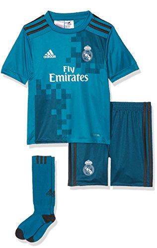 adidas Erwachsene Real Madrid Mini-ausweichausrüstung, Blau/Azuint/Gripur, 104