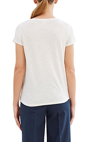 ESPRIT Damen T-Shirt Weiß (Off White 110)