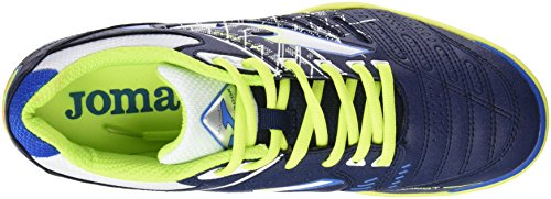 Joma Maxima 611citron orange fluor Indoor, Chaussures de football pour homme MARINO-ROYAL