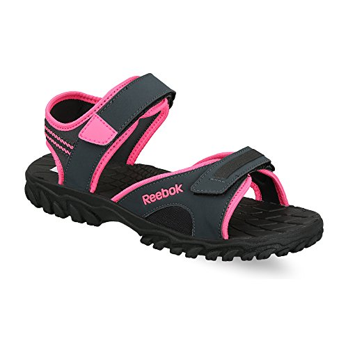 Reebok Women's Adventure Chrome Gravel, Pink and Black Fashion Sandals - 4 UK/India (37 EU) (6.5 US)  available at amazon for Rs.1199