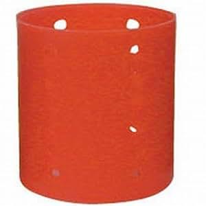 Soft 'N Style - Bigoudis magnétiques géants 76 mm - rouge - 6 par sachet (pack de 3)