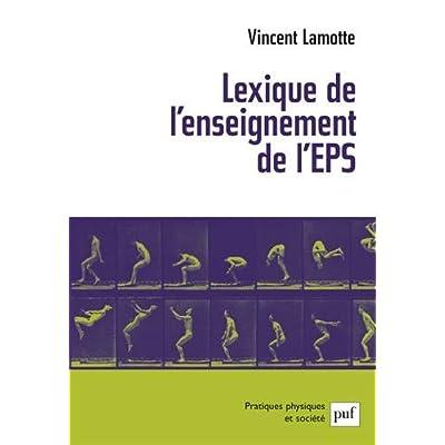 Lexique de l'enseignement de l'éducation physique et sportive