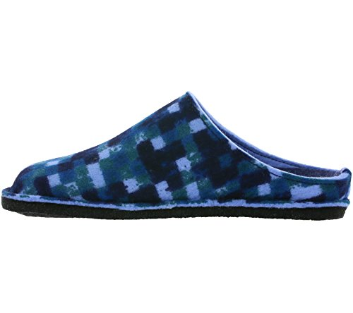 Pp23 Haflinger Unisex Pantofole Blau Muli Flair Rnqwafv