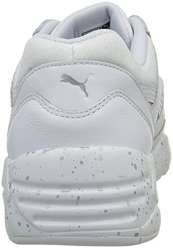 Puma R698 Speckle, Sneakers Basses Mixte Adulte Blanc (White/Silver)