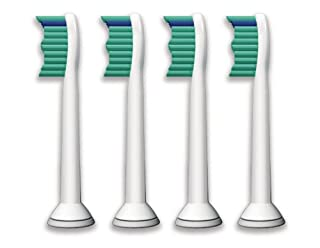 Philips Sonicare Ersatzbürsten Original ProResults HX6014/35 gelangen an schwer erreichbare Stellen & passen auf jede Sonicare Zahnbürste mit Aufsteck-System - 4er Pack, Standard, Weiß (B003YFIRWG) | Amazon price tracker / tracking, Amazon price history charts, Amazon price watches, Amazon price drop alerts