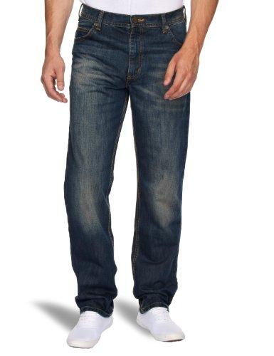 Lee BROOKLYN KHAKI L8139090 Herren Jeanshosen/ Lang, Gerades Bein (Straight Leg) Bleu (Classic Vintage)