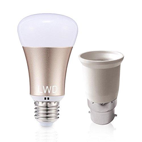 LWD Smart LED bombilla, Wi-Fi, teléfono Wifi, mando a distancia, funciona con...