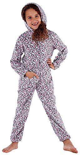 i-Smalls Maedchen Grau Pink Camo Overall Schlafanzug (9-10) Grau/Pink Tarnung
